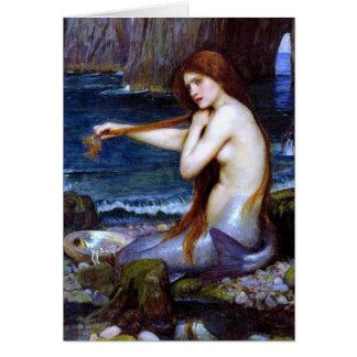 Cartão Waterhouse: A sereia