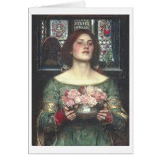 Cartão Waterhouse de John W - recolhimento YE Rosebuds