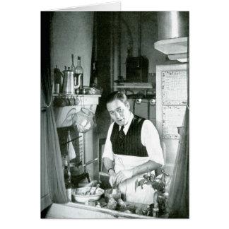 Cartão Watt em uma cozinha, os anos 50 de Alexander