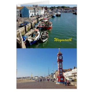 Cartão Waygood Weymouth!