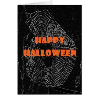 Cartão Web feliz do Dia das Bruxas