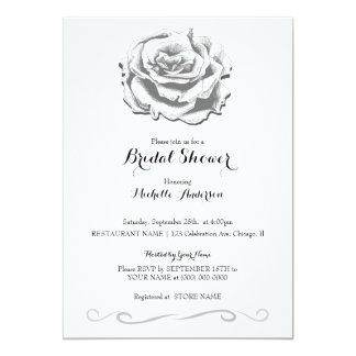 Cartão Wedding cor-de-rosa do chá de panela do