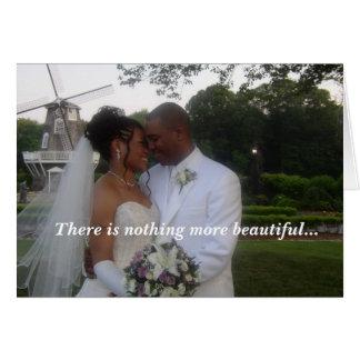 Cartão Wedding, lá não é nada mais bonito…