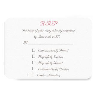 Cartão Wedding personalizado engraçado do convite