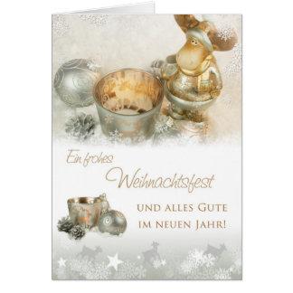 Cartão Weihnachtselch