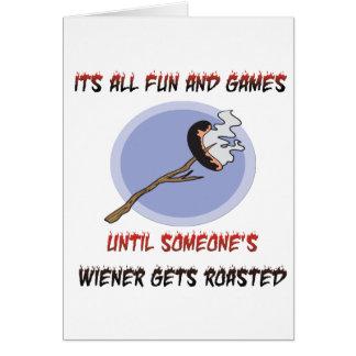 Cartão Weiner obtem Roasted