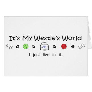Cartão Westie