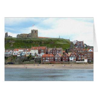 Cartão Whitby em North Yorkshire