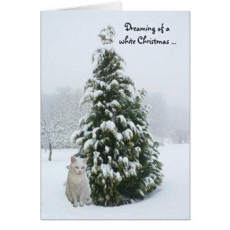 Cartão White Christmas