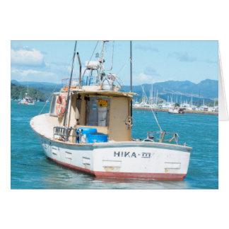 Cartão Whitianga, Nova Zelândia