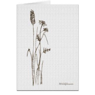 Cartão Wildflower