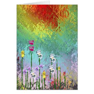 Cartão Wildflowers