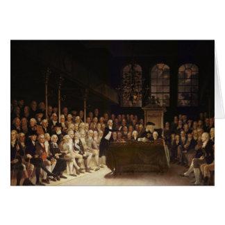 Cartão William Pitt que endereça a casa