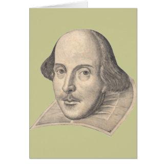 Cartão William Shakespeare