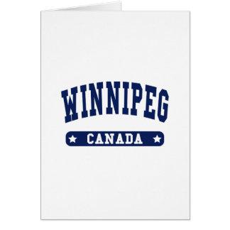 Cartão Winnipeg