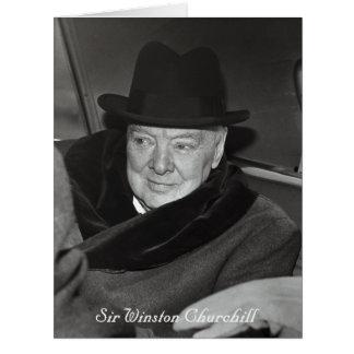 Cartão Winston Churchill