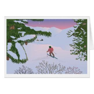 Cartão winterscene