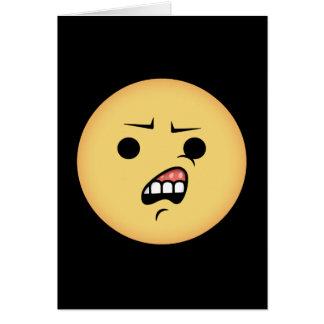 Cartão WTF Emoji