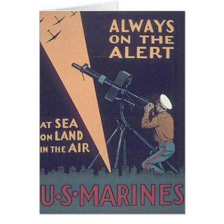 CARTÃO WW2 USMC 18