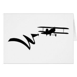 Cartão WWI 0002 - Albatros DV - Hans von Hippel