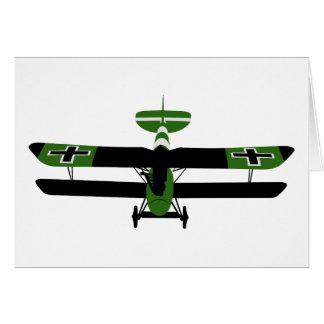 Cartão WWI 001 - Albatros DV