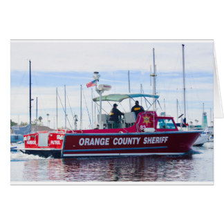Cartão Xerife do Condado de Orange