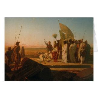 Cartão Xerxes no Hellespont