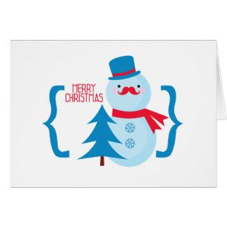 Cartão Xmas da feliz!