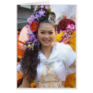 Cartão Yim Yai (sorriso grande)