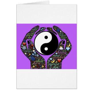 Cartão Yin, Yang