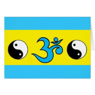 Cartão Yin Yang