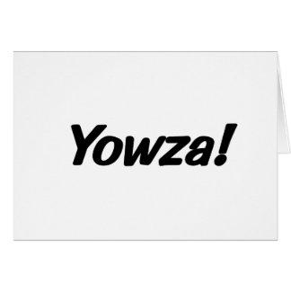 Cartão yowza