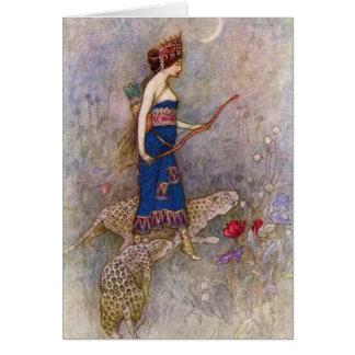 Cartão Zenobia - rainha do Palmyra,