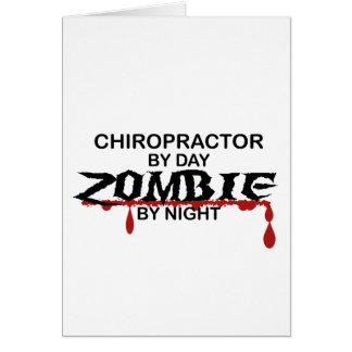 Cartão Zombi do Chiropractor