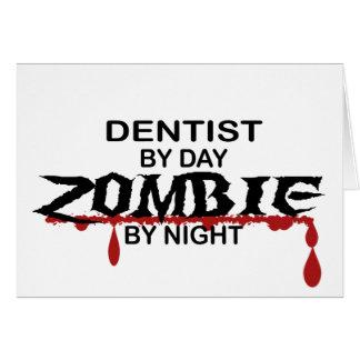 Cartão Zombi do dentista