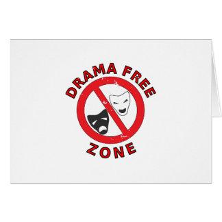 Cartão Zona franca do drama