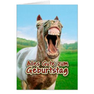 Cartão Zum Geburtstag de Alles Gute