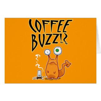 Cartão ZUMBIDO do café!?