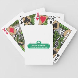 Cartas De Baralho Cartões de jogo de ondulação da bicicleta de