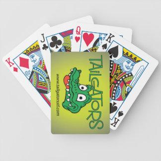 Cartas De Baralho Cartões de jogo de Tailgators
