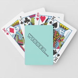 Cartas De Baralho Cartões de jogo do póquer do vencedor…