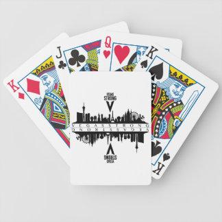 Cartas De Baralho Cartões de jogo fortes de Vegas