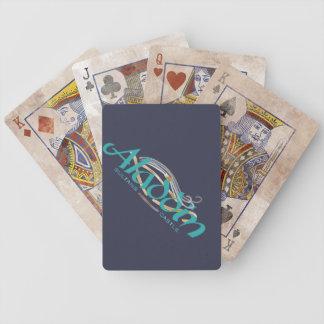 Cartas De Baralho Cartões do póquer da bicicleta do castelo das