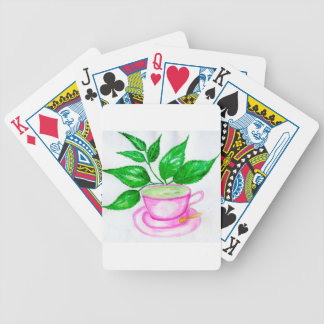 Cartas De Baralho Chá verde Art2