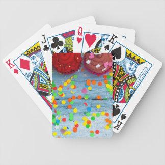 Cartas De Baralho cupcakes coloridos