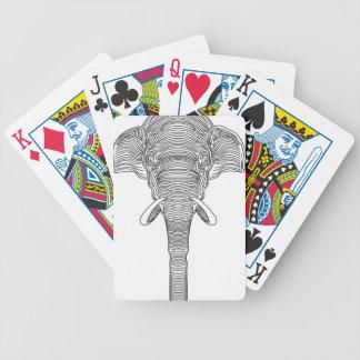 Cartas De Baralho elefante