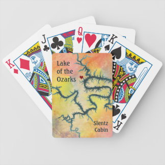Cartas De Baralho Lago do Ozarks Missouri Laurie MO
