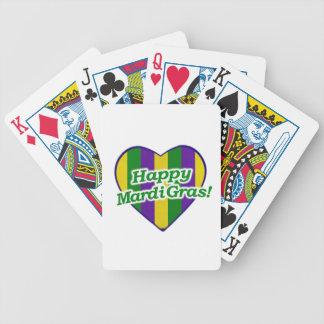 Cartas De Baralho Logotipo feliz do carnaval