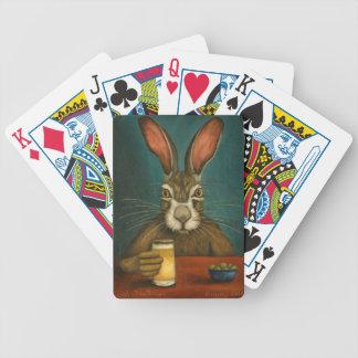 Cartas De Baralho Saltos do coelho