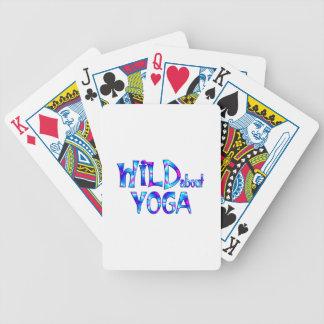 Cartas De Baralho Selvagem sobre a ioga